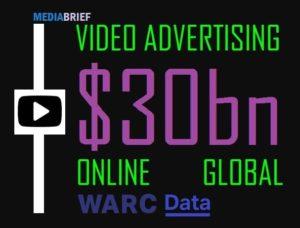 image-$30bn-advertiser-spend-likely-on-video-advertising-WARC-Data-MediaBrief-IN-POST