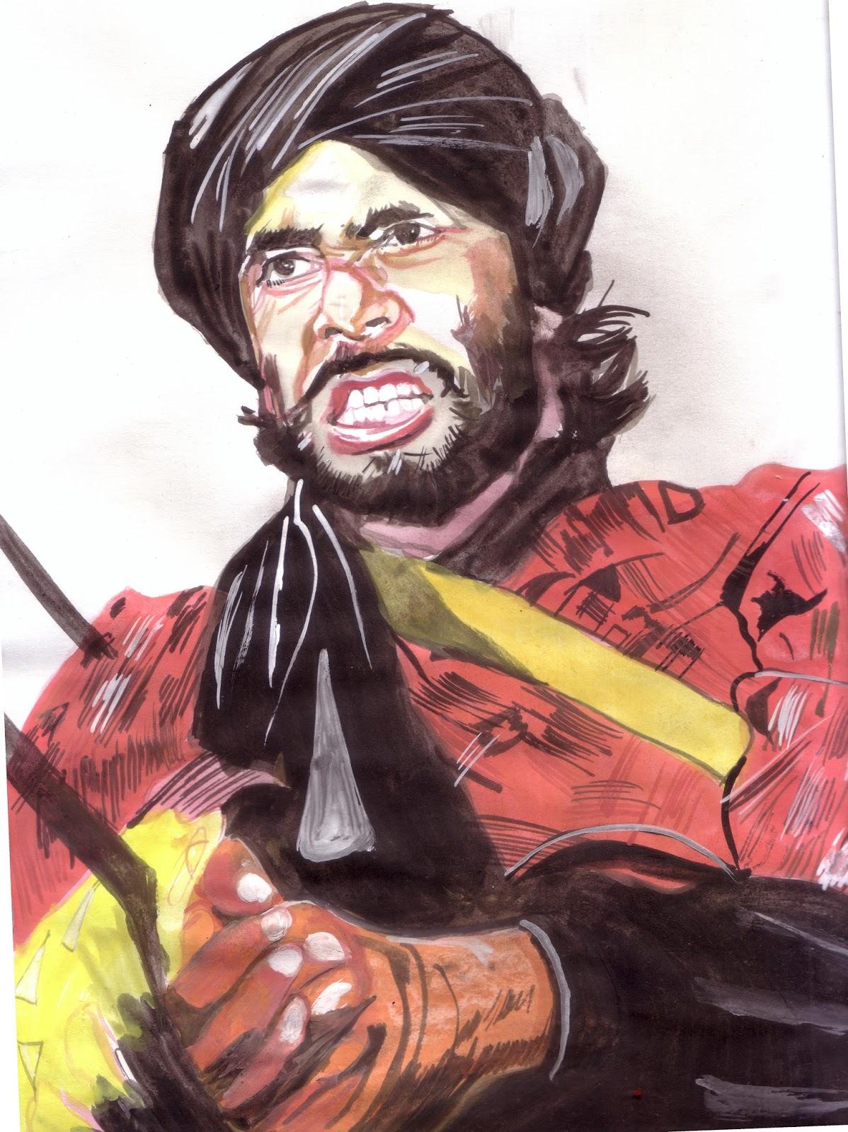 image-Amitabh-Bachchan-Saurabh-Turakhias-passion-for-celebrity-portraits-mediabrief