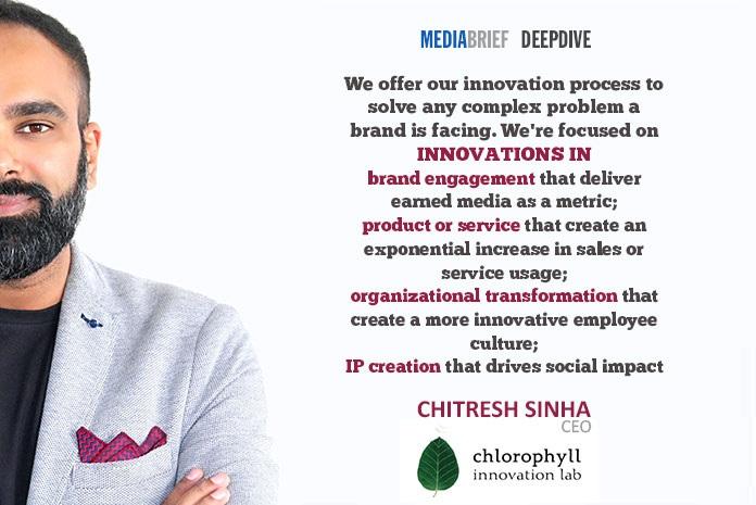 image-Chitresh-s- blurb-2-Chitresh-Sinha-CEO-chlorophyll-innovation-lab-on-Innovation-On-Tap-MediaBrief