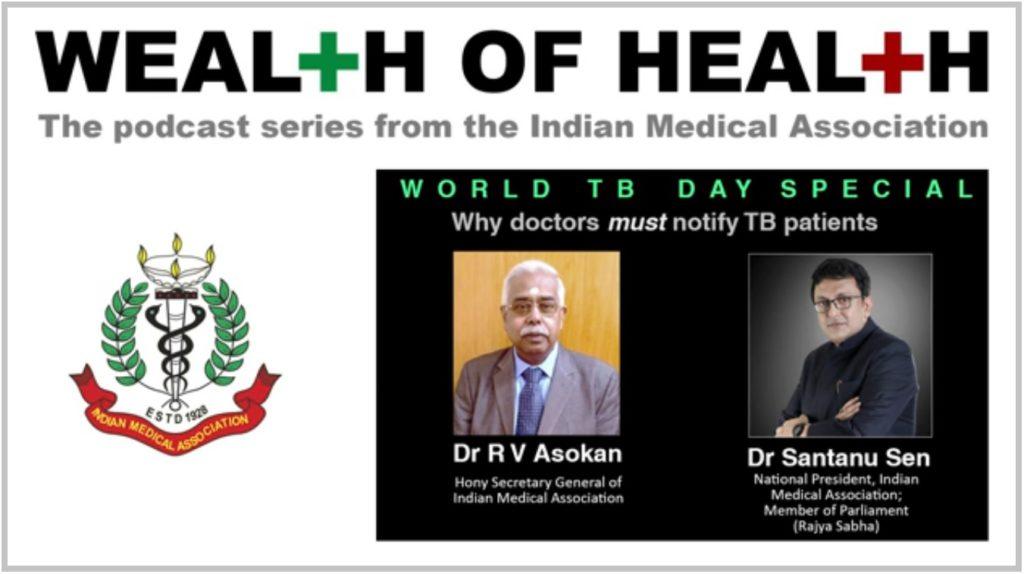 Image IMA podcast Wealth of Health Dr Sen and Dr Asokan Mediabrief