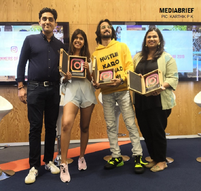image-India's-top-instagrammers-in-2019-Saket Jha Saurabh of Facebook, Sejal Kumar, Bhuvan Bam, Pooja Dhingra MediaBrief
