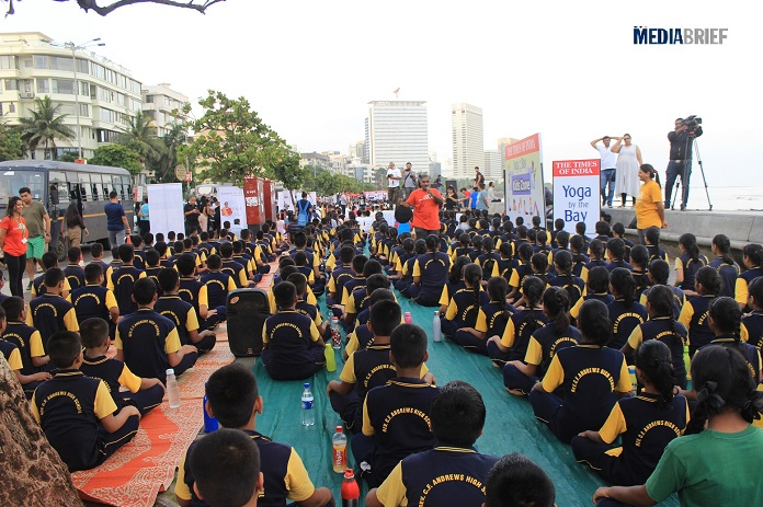 image-Yoga-For-Kids-Yoga-By-The-Bay-Times-of-India-with-The-Yoga-Institute-Santacriz-Mumbai-Mediabrief