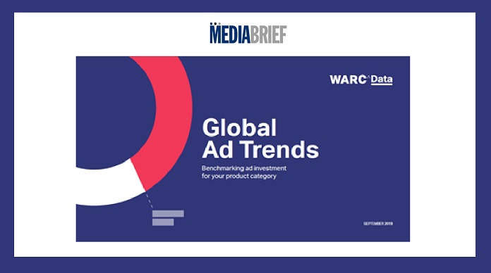 image-WARC-DATA-Global Ad Trends-Product Category ad spends on media MediaBrief