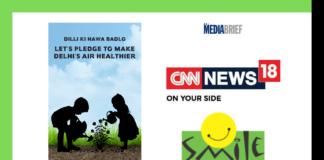image-CNN-News18 Smile Foundation #DilliKiHawaBadlo Campaign Mediabrief