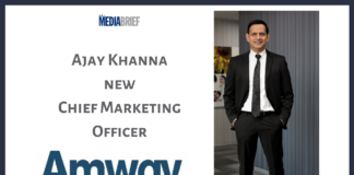 image-Amway India appoints Ajay Khanna as Head of Marketing Operations for India Mediabrief