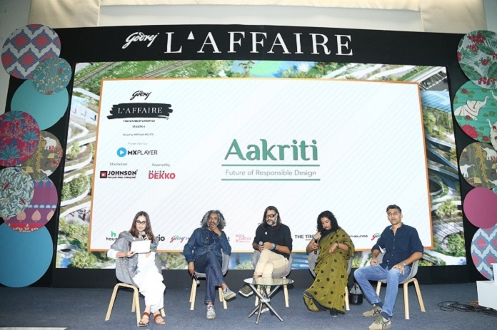 India's top designers - Alan Abraham (Abraham John Architects), Madhav Raman (Anagram Architects), Swarup Dutta (Scenographer) and Asha Sairam (Studio Lotus)