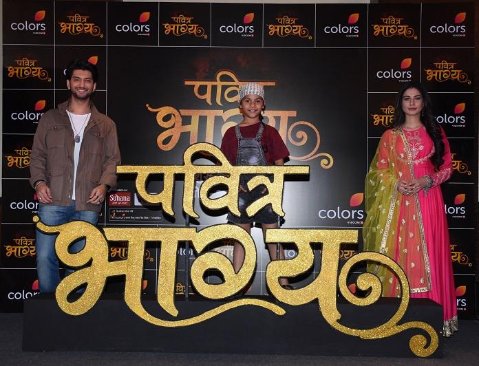 Kunal Jaisingh, Vaishnavi Prajapati and Aneri Vajani in COLORS' new show Pavitra Bhagya