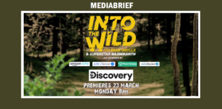 image-Discovery to premiere Superstar Rajinikanth's historic TV debut show 'Into The Wild with Bear Grylls' on March 23 Mediabrief