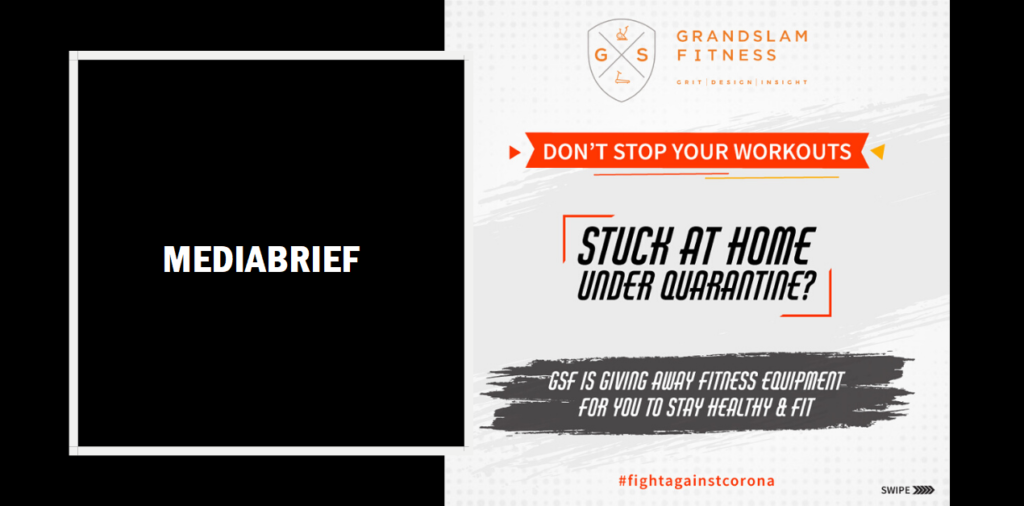 image-#FightagainstCorona by working-out with Grand Slam Fitness equipment Mediabrief