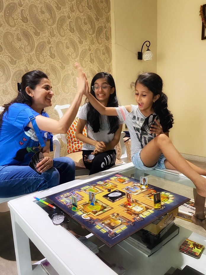 Smita Bansal spends time with her daughters