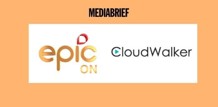 image-EPIC ON and Cloudwalker Smart TV Partnership-MediaBrief