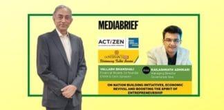 image-kailashnath Adhikari and vallabh bhanshali on visionary talks - story on mediabrief