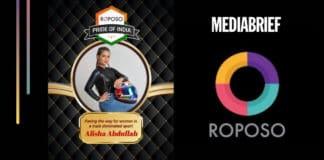 image-Alisha Abdulla on 'Roposo Pride of India program'-mediaBrief.jpg