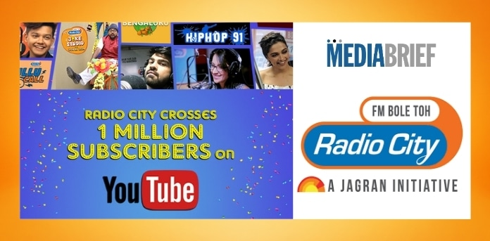 image-Radio-city-1mn-subscribers-YouTube-MediaBrief.jpg