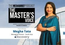 image-featured-Megha-Tata-on-The-Master's Voice Podcast with Pavan R Chawla on MediaBrief