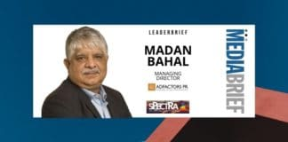 image-Madan Bahal address at Spectra - MediaBrief