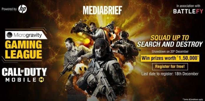 Image-Microgravity Gaming League to host 'COD Mobile' tournament-MediaBrief.jpg