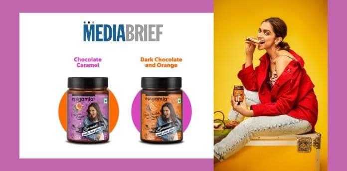 Image-Deepika-Epigamia-launch-chocolate-spreads-made-from-Ghee-MediaBrief.jpg
