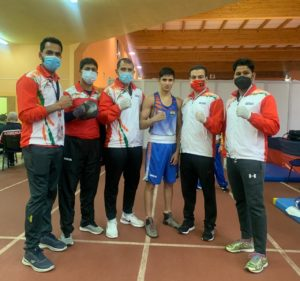 Sachin-celebrates-with-the-coaches-after-winning-his-semi-final-bout-at-AIBA-Youth-Mens-and-Womens-World-Championship-in-Kielce-Poland..jpeg