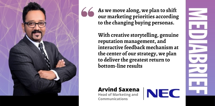 EXCLUSIVE | Arvind Saxena, NEC