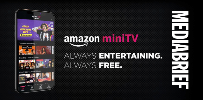 Image miniTV free video streaming service launched by Amazon India MediaBrief
