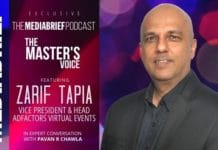 image Zarif Tapia on The Master's Voice Podcast with Pavan R Chawla MEDIABRIEF