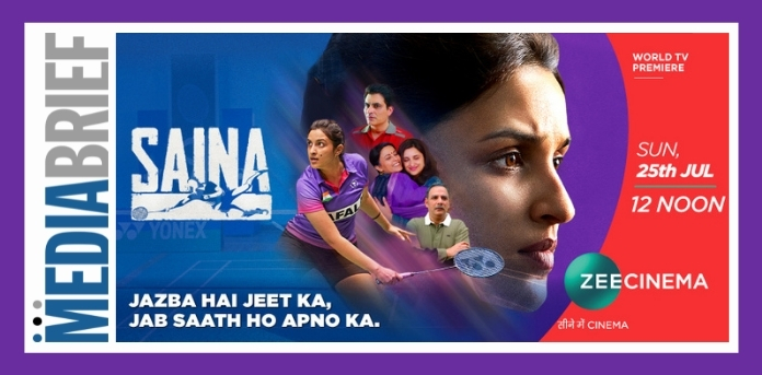 Image- Zee Cinema TV premiere of Saina -MediaBrief.jpg