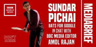image Sundar Pichai bats for Google, in chat with Amol Rajan of BBC MediaBrief-1