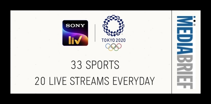 image-sonyliv olympics content - mediabrief