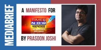 image prasoon joshi writes manifesto for times now navbharat - mediabrief