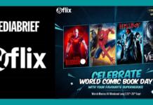 &flix 'Comic Book Day' special weekend binge